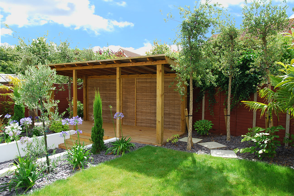 Contemporary Mediterranean garden design